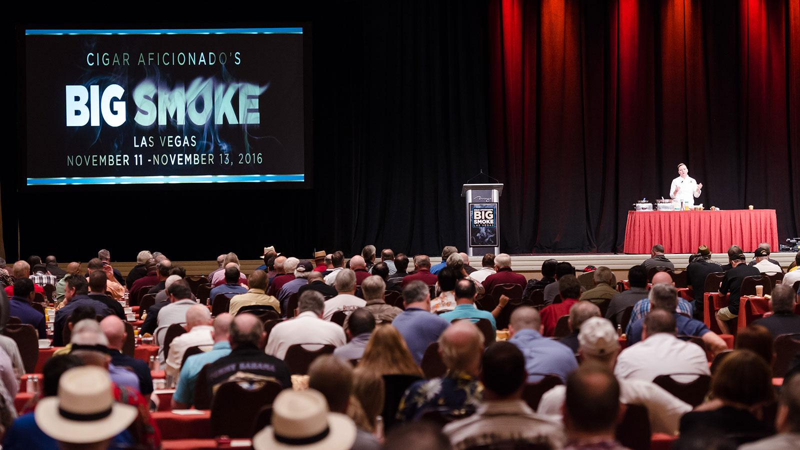 2016 Big Smoke Sunday Seminars—Cigar Lovers Breakfast
