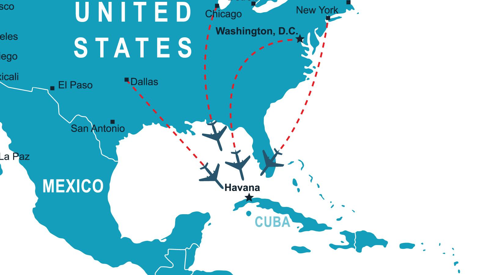U.S. And Cuba Setting Up New Air Travel Arrangement