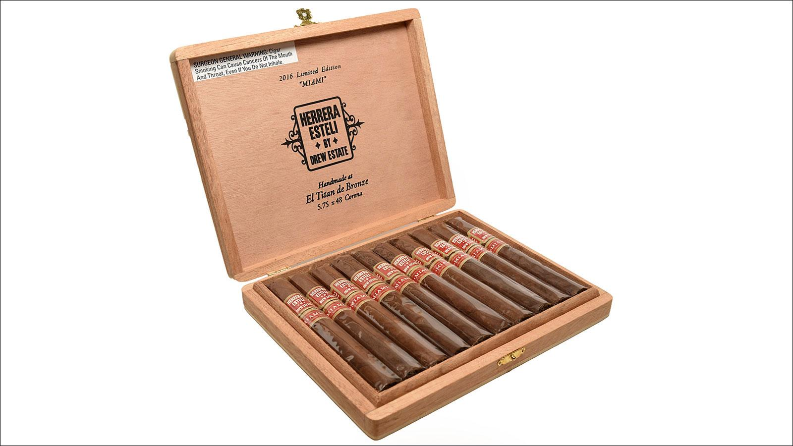 Miami-Made Herrera Esteli To Debut Next Week