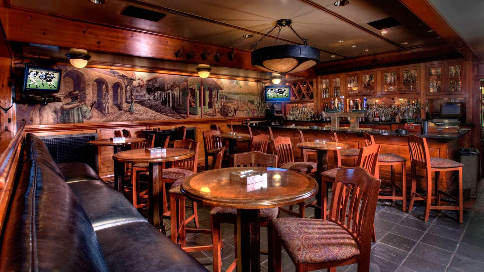 Cool, dark, quiet and cozy, Shelly's Back Room is a fabulous place to smoke, drink, eat or watch sports.