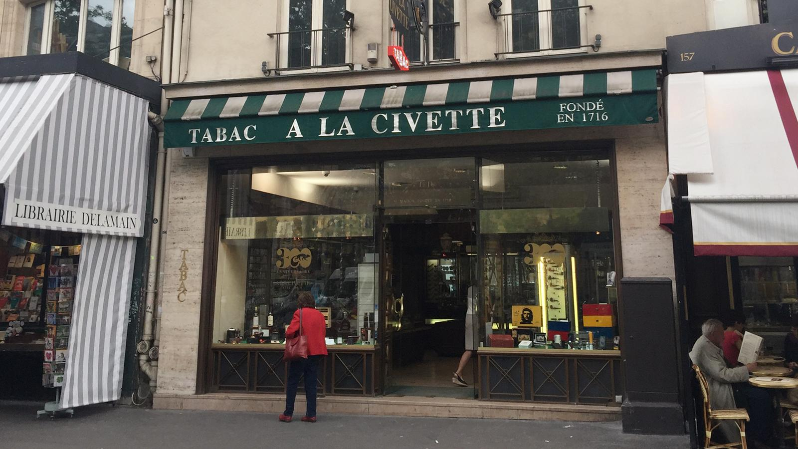 À La Civette Paris Tobacconist Celebrates 300th Anniversary