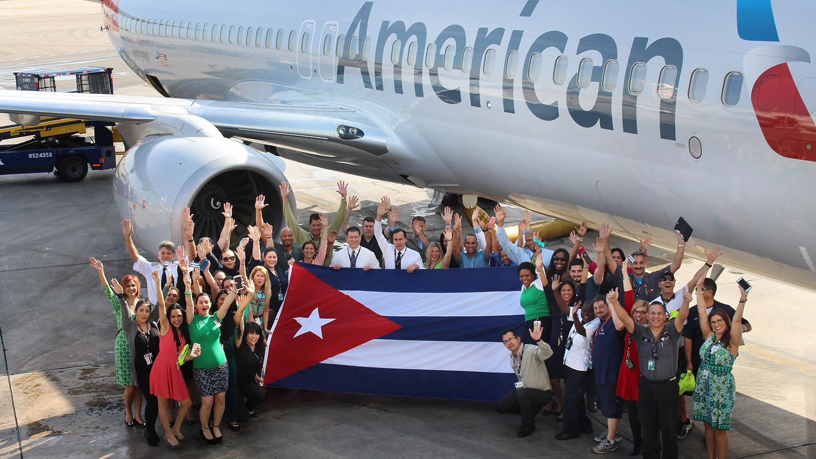American Airlines Plans Service Cutbacks to Cuba