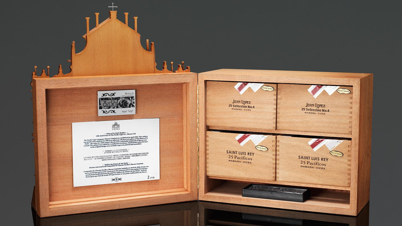 Pacific Cigar Releases Commemorative Humidor
