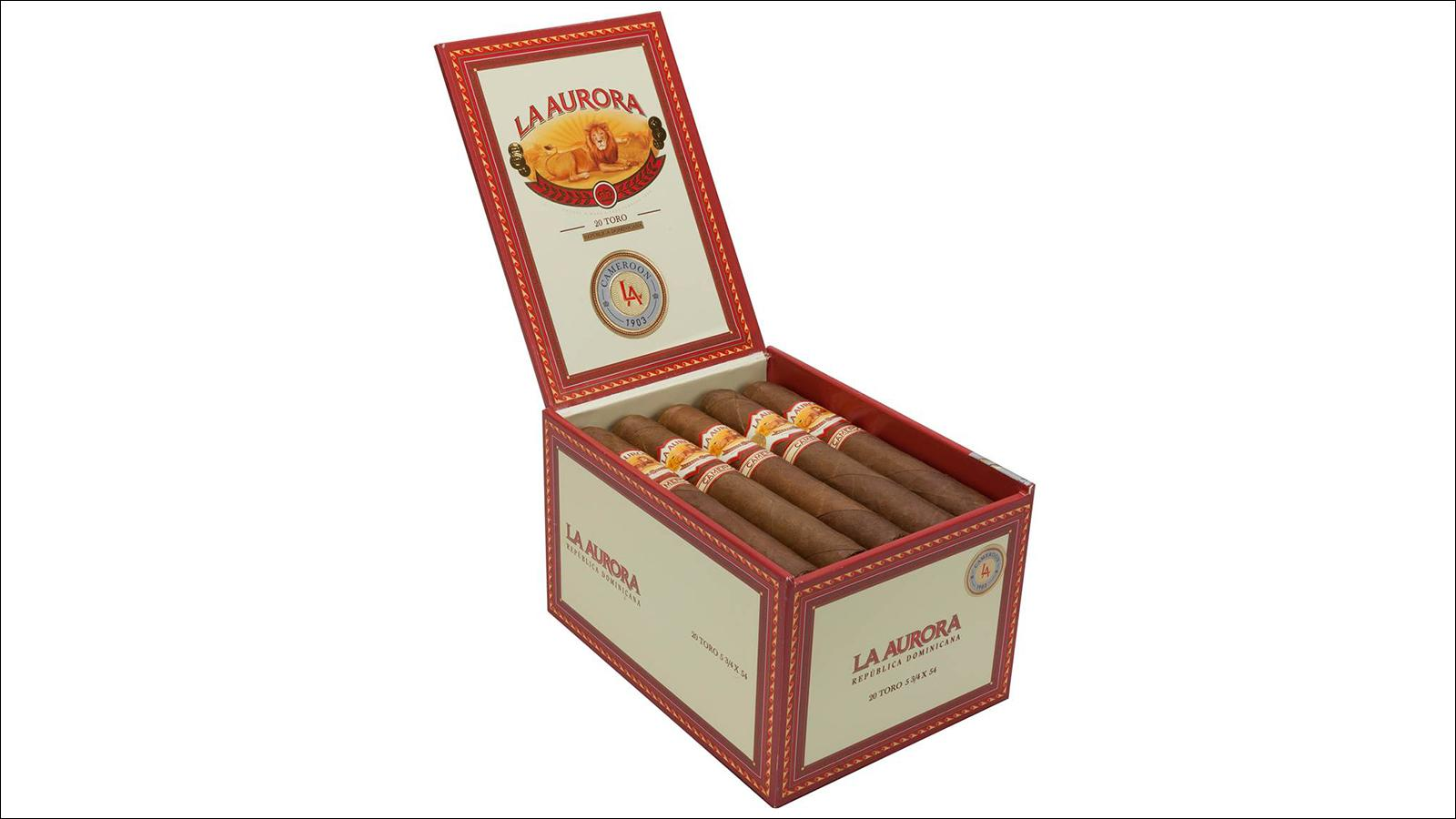 La Aurora Launches New Cameroon Cigar