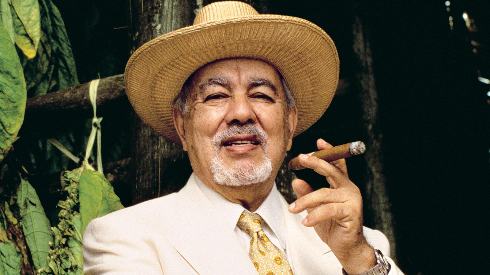 Avo Uvezian, in his prime, photographed in the Dominican Republic in 1997.