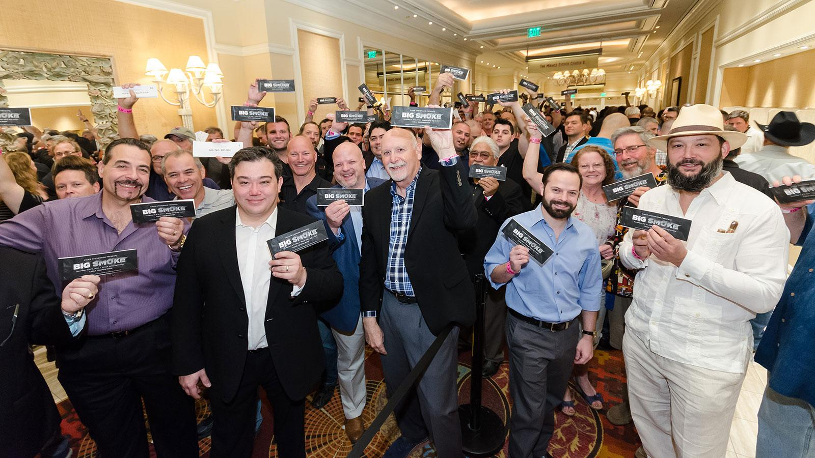 Cigar Fans Hit Smoking Jackpot at Big Smoke Las Vegas
