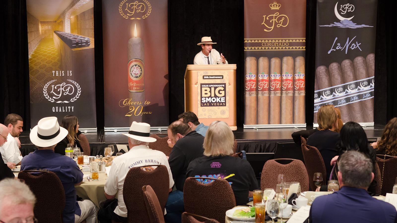 2015 Big Smoke Saturday Seminars—Lunch With La Flor Dominicana