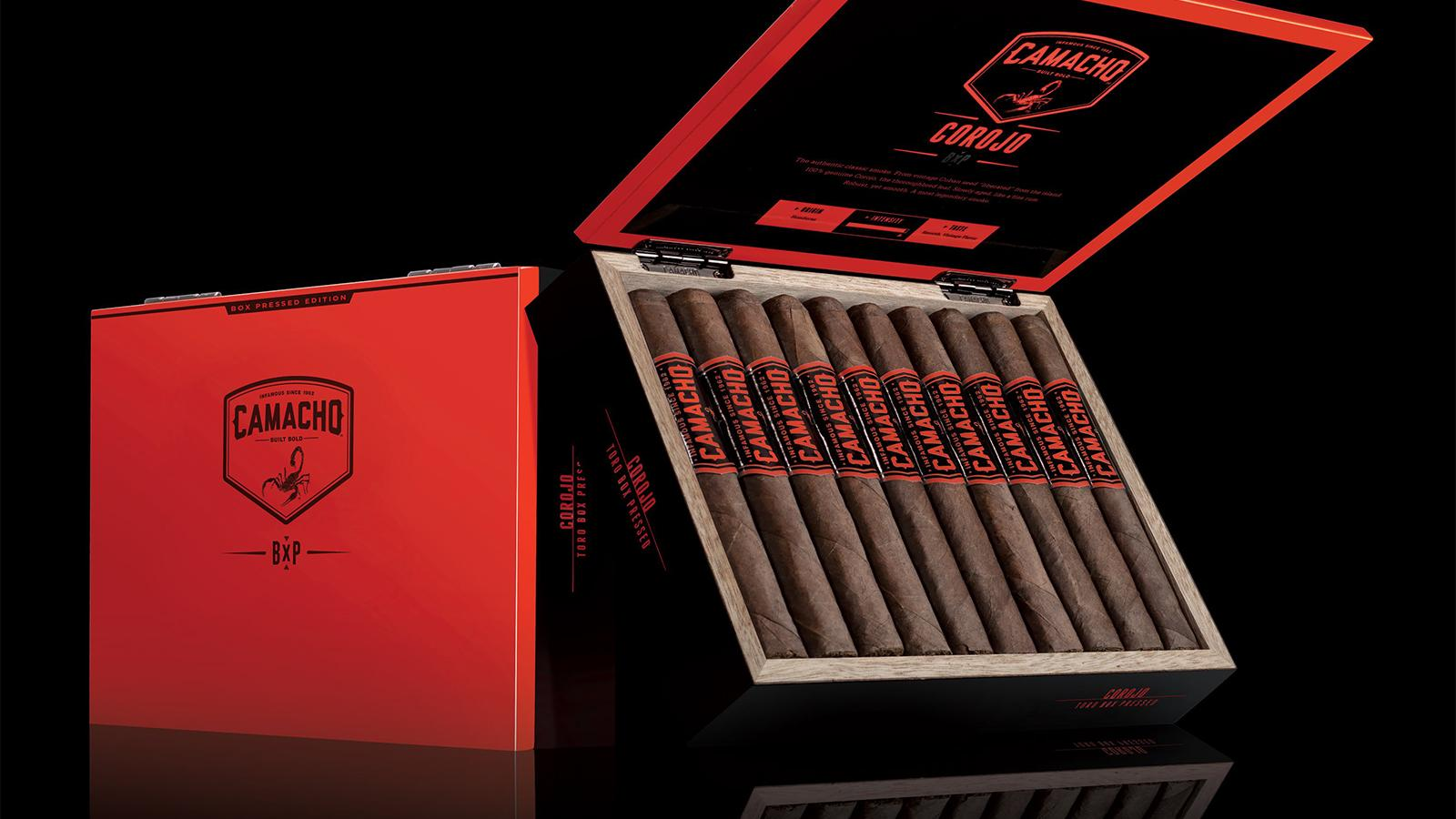 Camacho Cigars Get Box Pressed