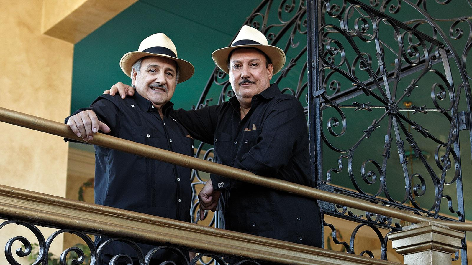 Carlos Fuente Sr. and Carlos Fuente Jr., the cigarmaking team behind the brand.