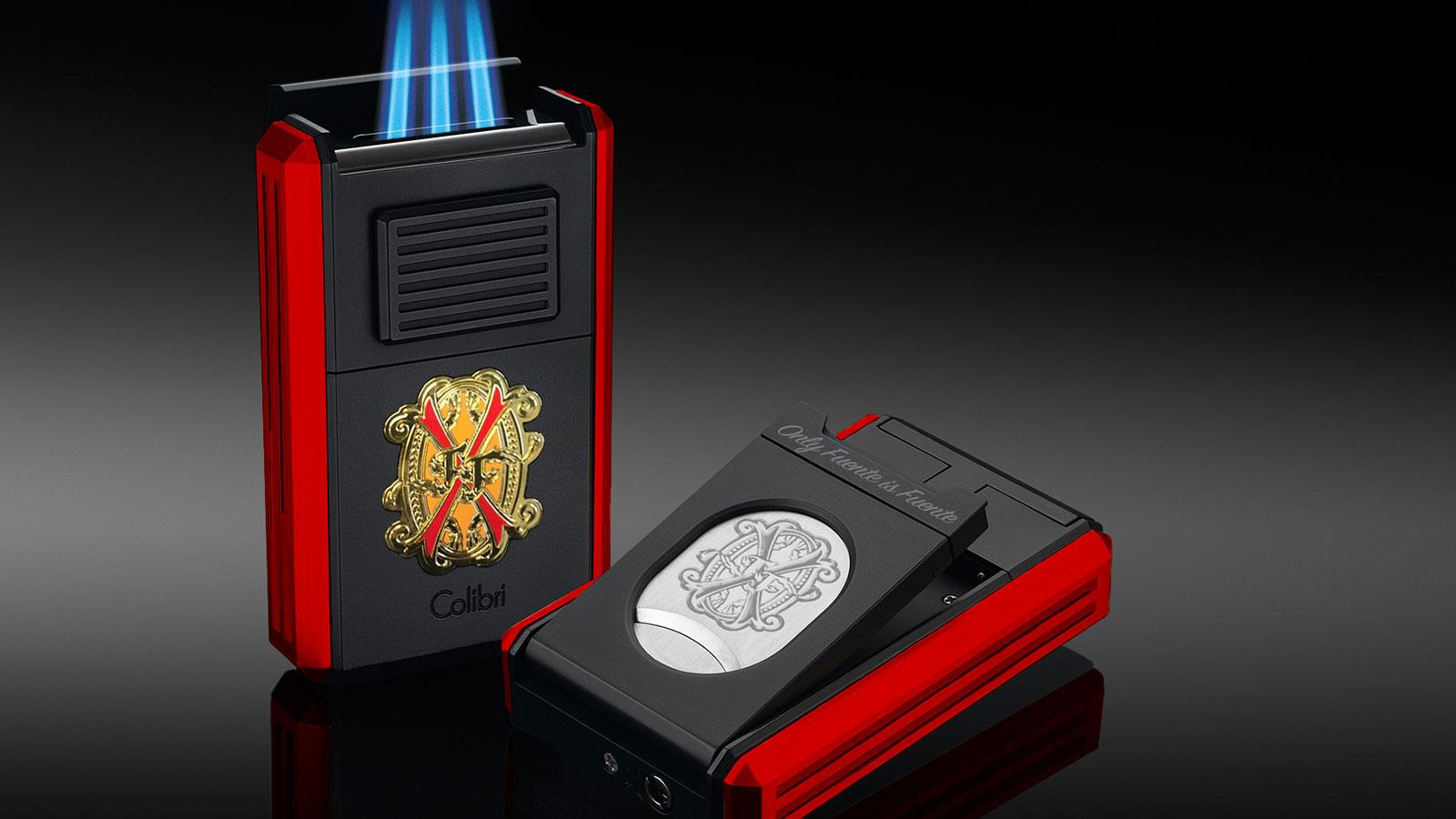 Colibri Collaborates With Fuente For Charity Lighter