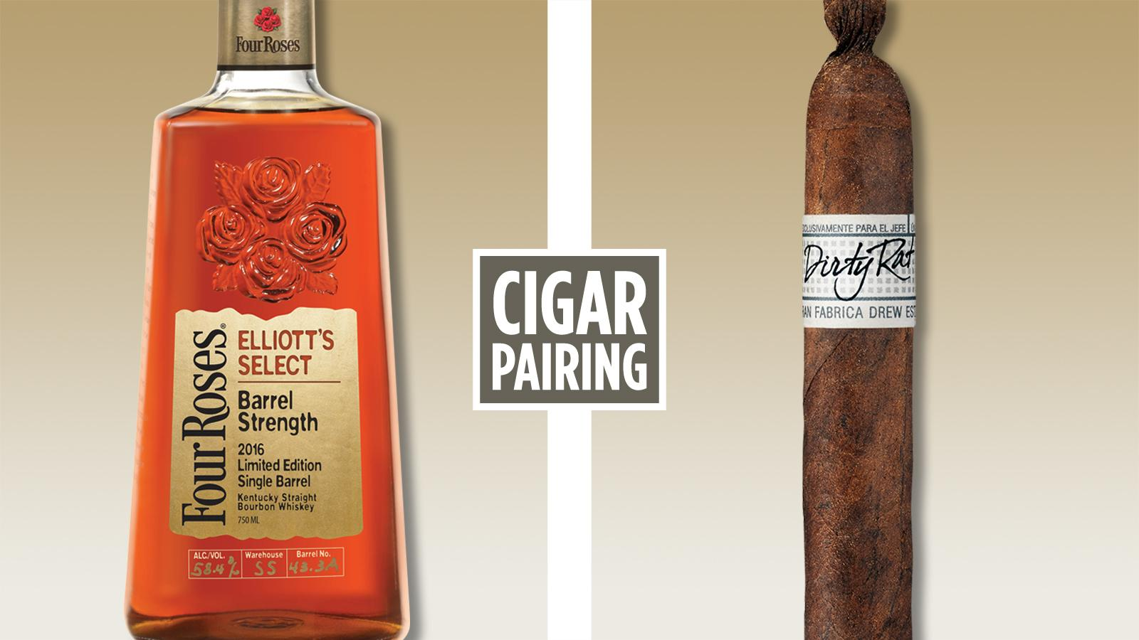 Cigar Pairing: Four Roses Elliott's Select Barrel Strength Bourbon