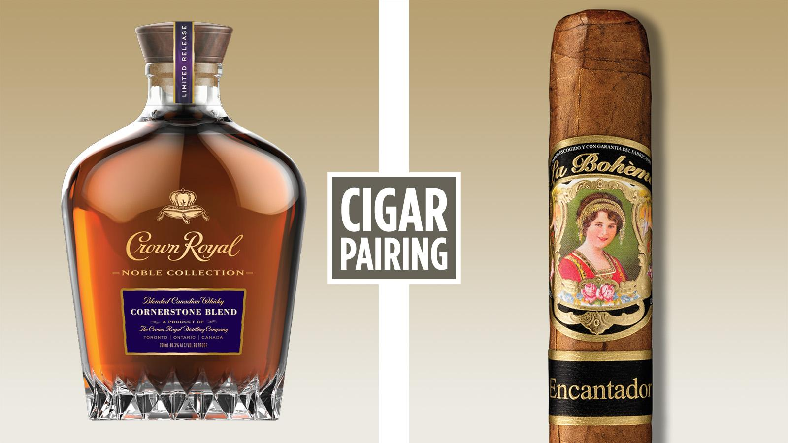 Cigar Pairing: Crown Royal Noble Collection—Cornerstone Blend Whisky