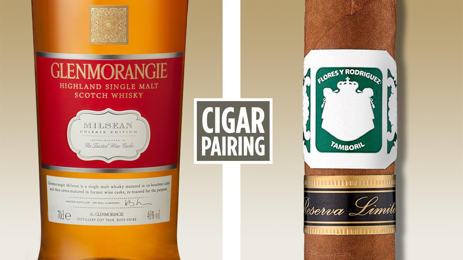 Cigar Pairing: Glenmorangie Milsean Single-Malt Scotch