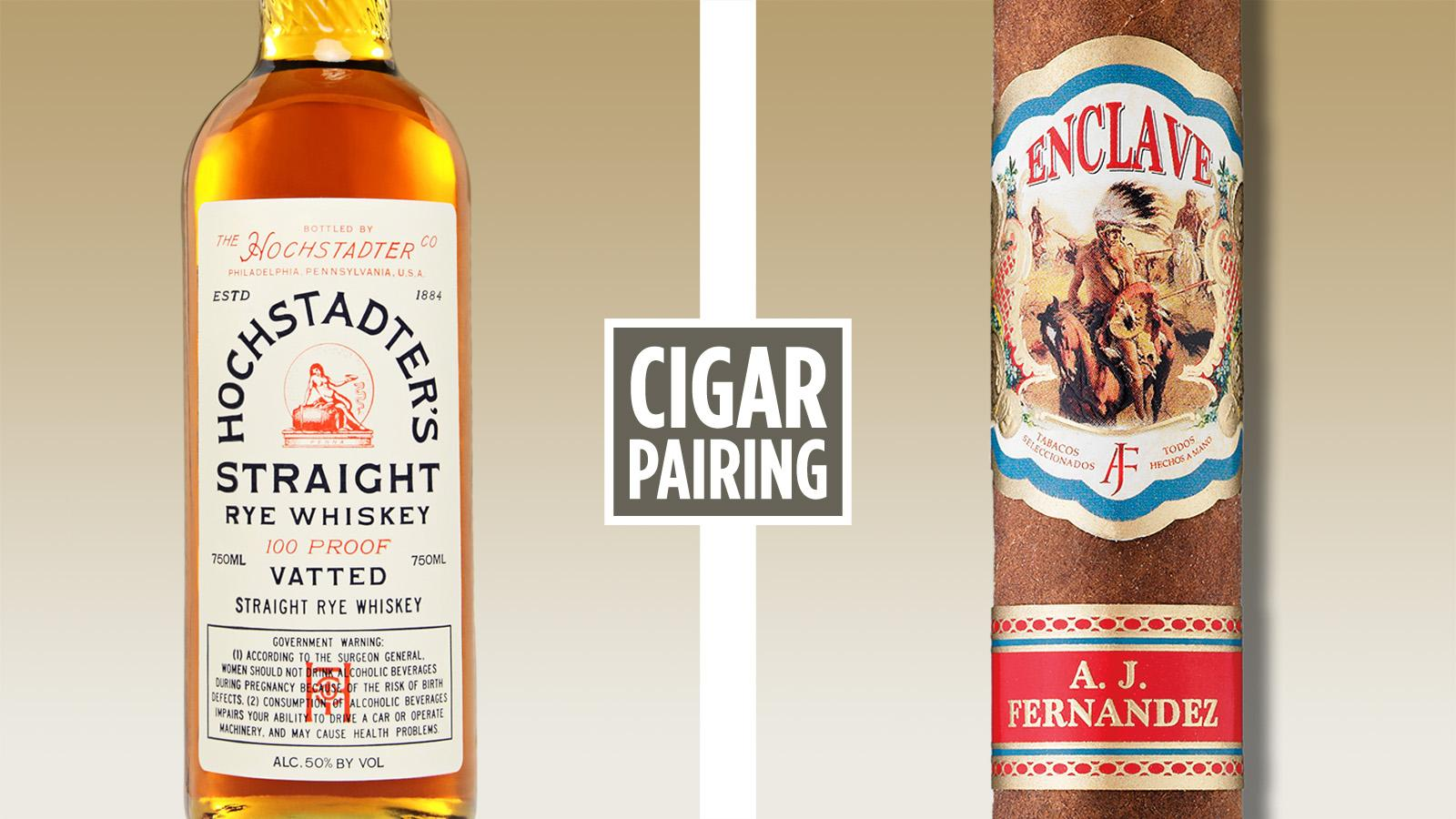 Cigar Pairing: Hochstadter's Vatted Straight Rye Whiskey