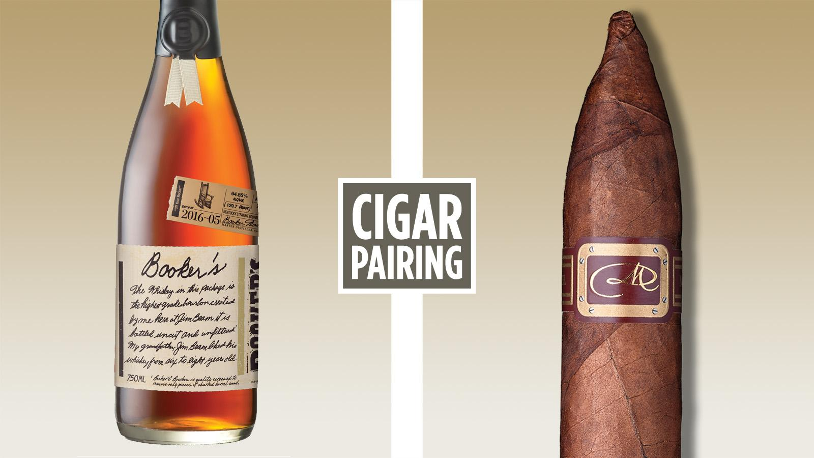 Cigar Pairing: Booker's Off Your Rocker Bourbon