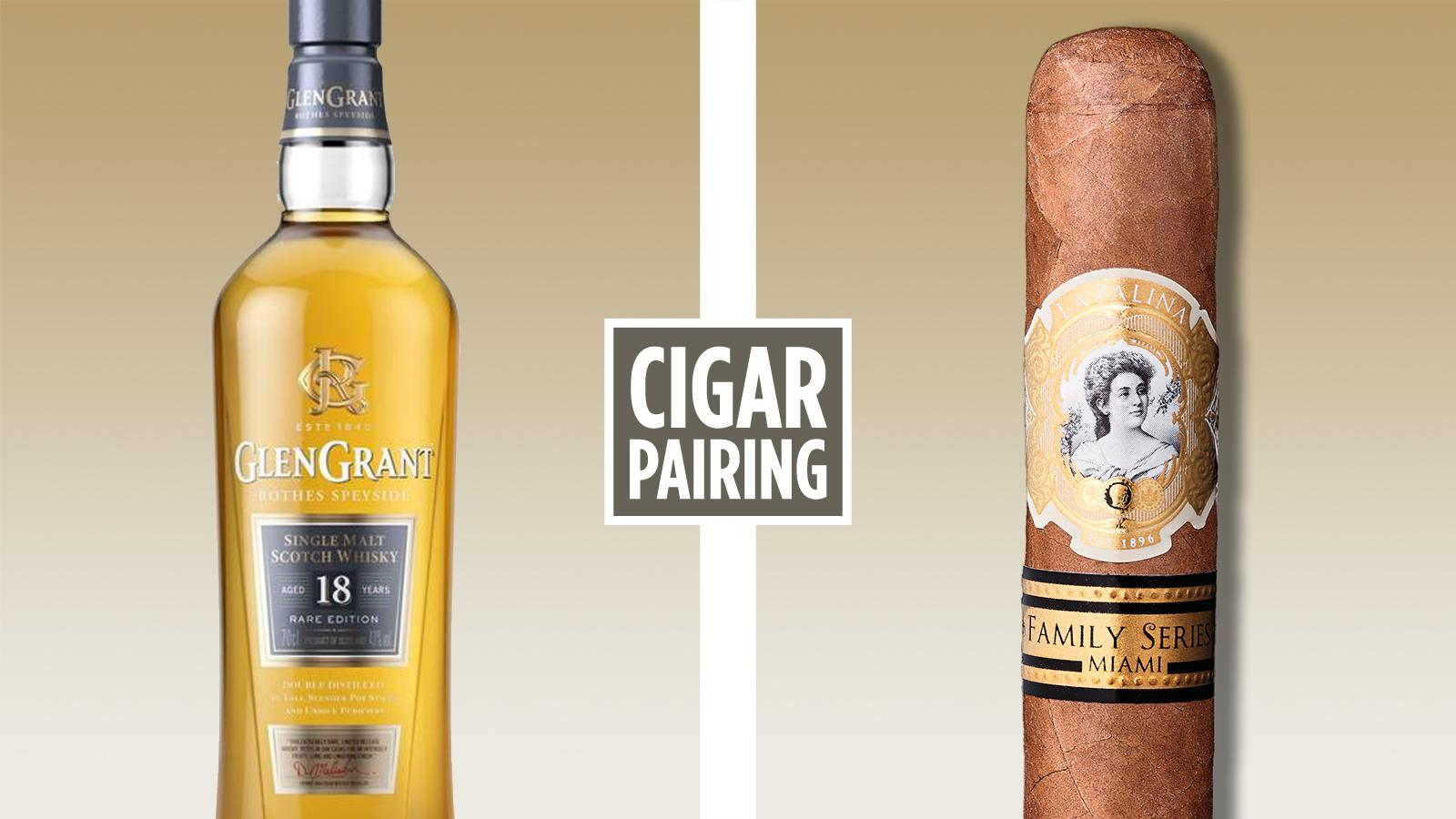 Cigar Pairing: Glen Grant 18 Year Old Scotch