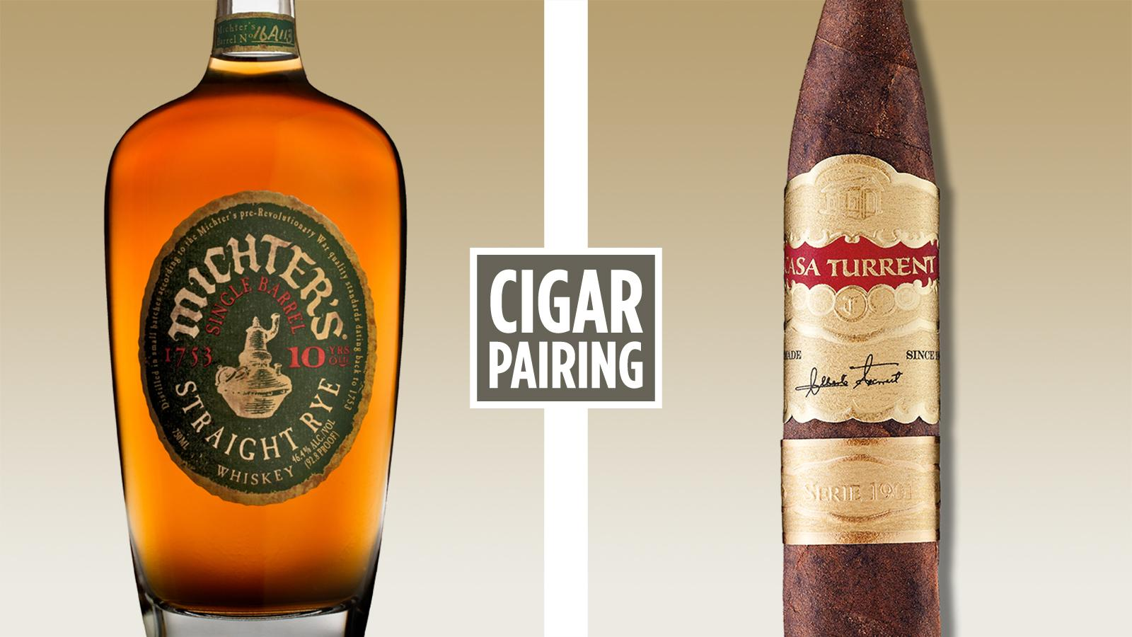 Cigar Pairing: Michter's 10 Year Old Rye