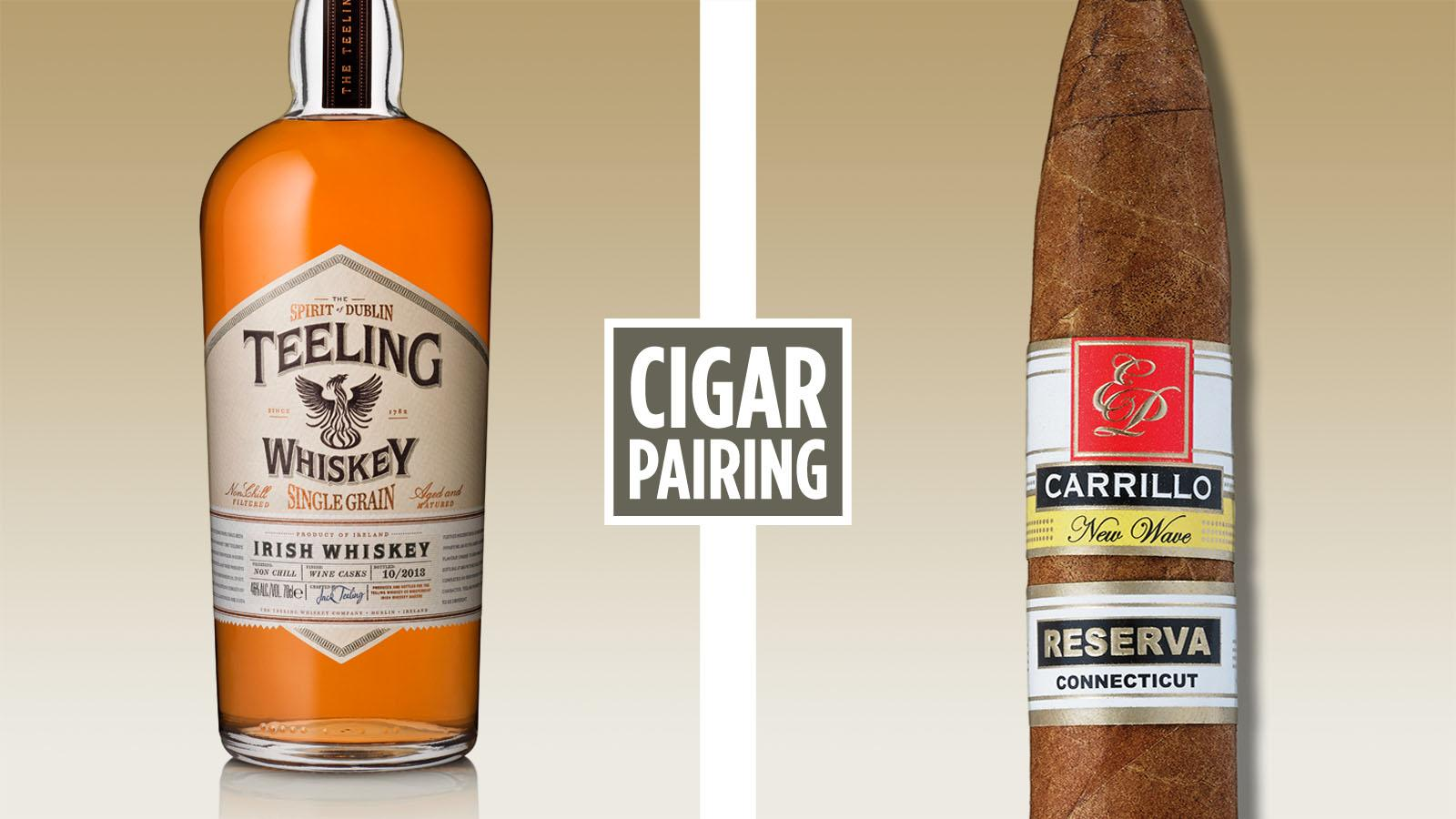 Cigar Pairing: Teeling Irish Whiskey