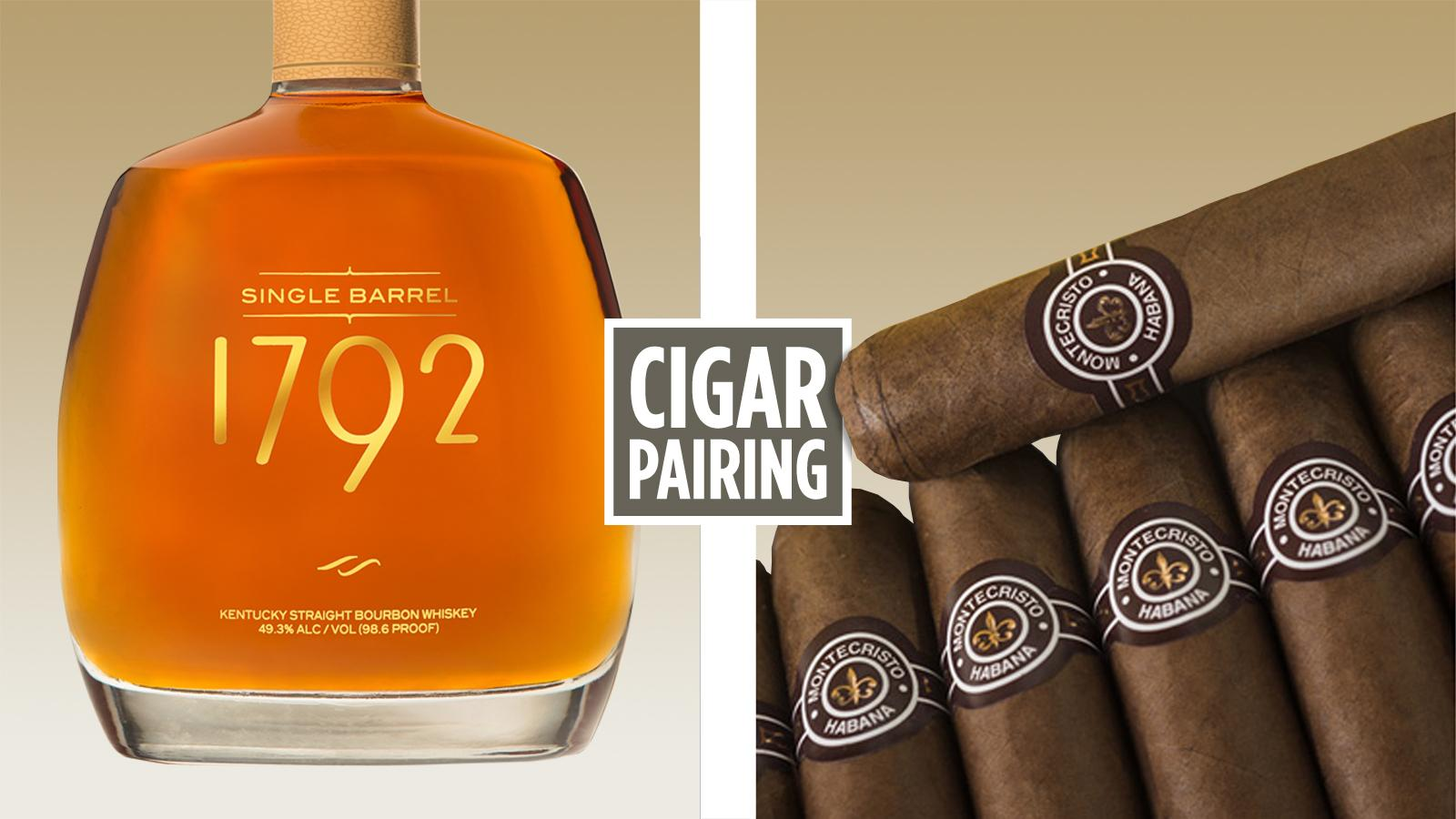 Cigar Pairing: Barton 1792 Single Barrel Bourbon