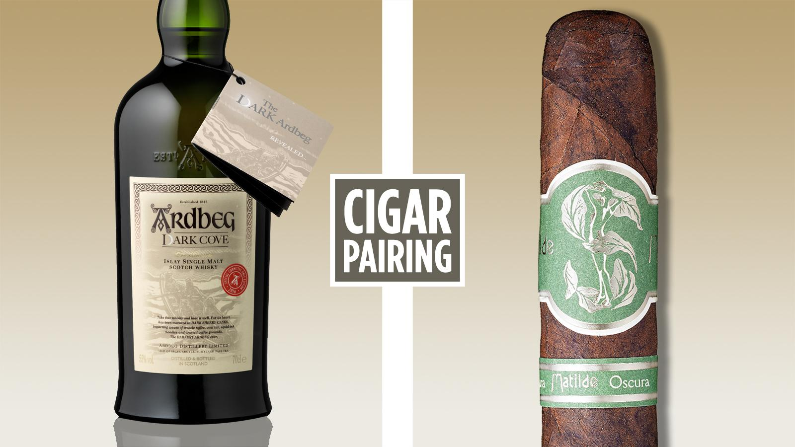 Cigar Pairing: Ardbeg Dark Cove Committee Edition