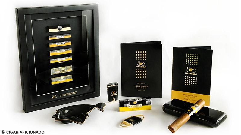 Inside The Cohiba Dinner Gift Bag
