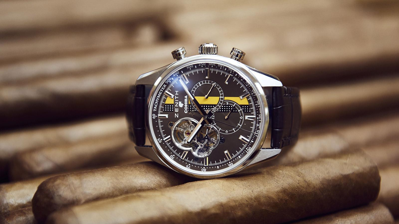 Zenith Launches Cohiba Watch
