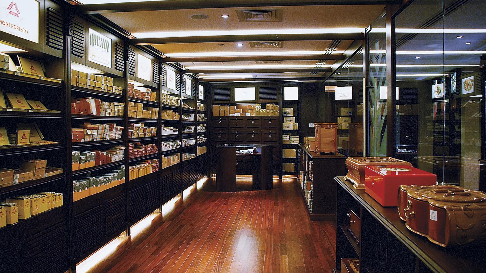 Americans can now legally purchase Cuban cigars from retailers in third-party countries, such as this Casa del Habano located in Dubai.