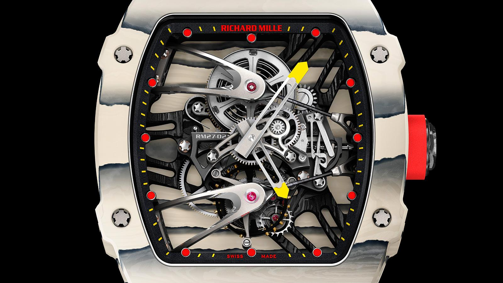 The Details on Rafael Nadal's $775,000 Richard Mille RM27-02 Watch