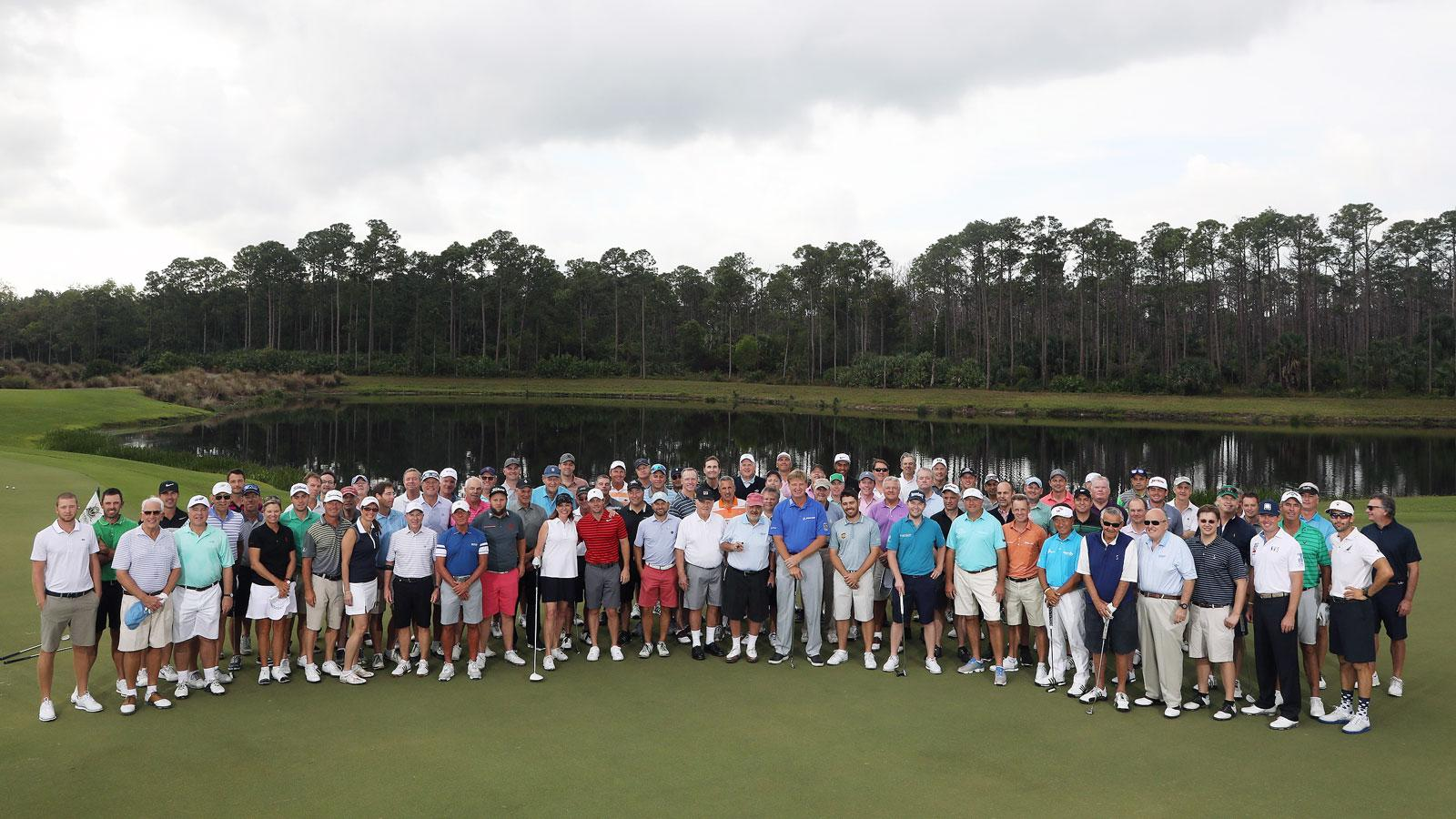 The ninth annual Els for Autism Pro-Am was held at Old Palm Golf Club in Palm Beach Gardens, Florida.