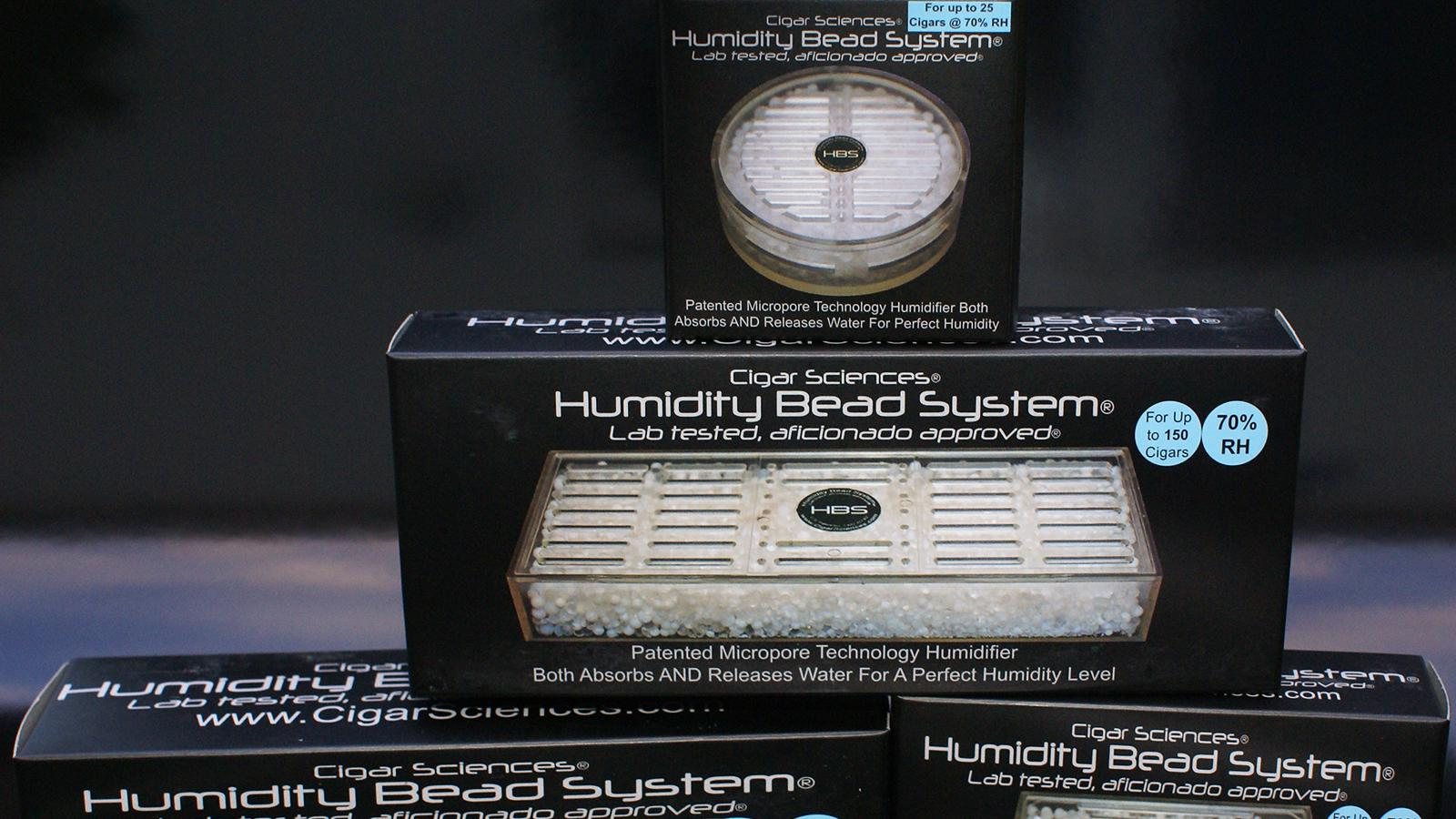The Humidity Bead System by Cigar Sciences
