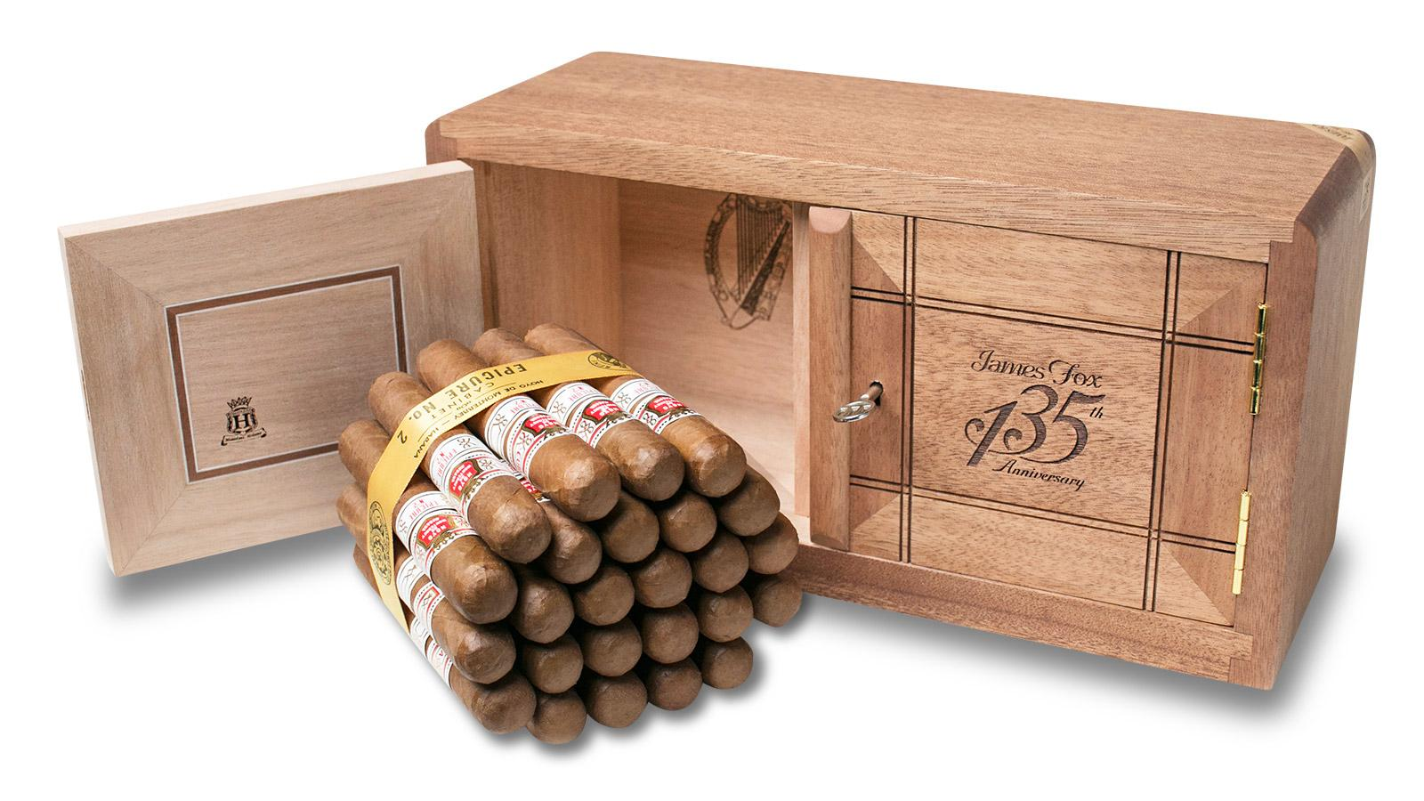 James Fox Celebrates 135 Years With Anniversary Humidor