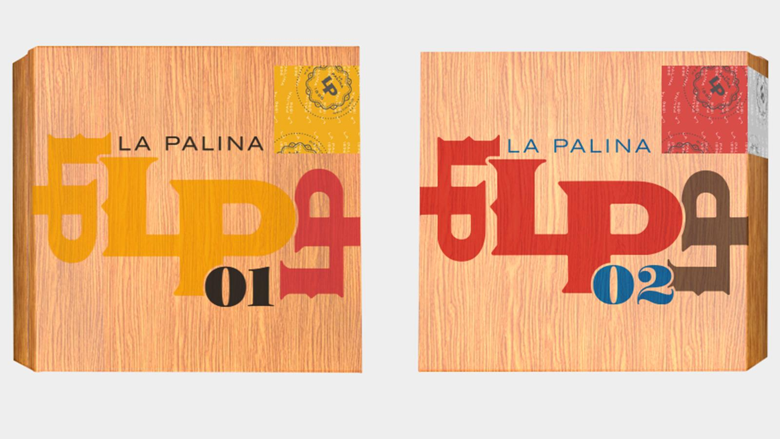 La Palina drew inspiration from artist Paul Rand for the Number Series' packaging and band artwork.