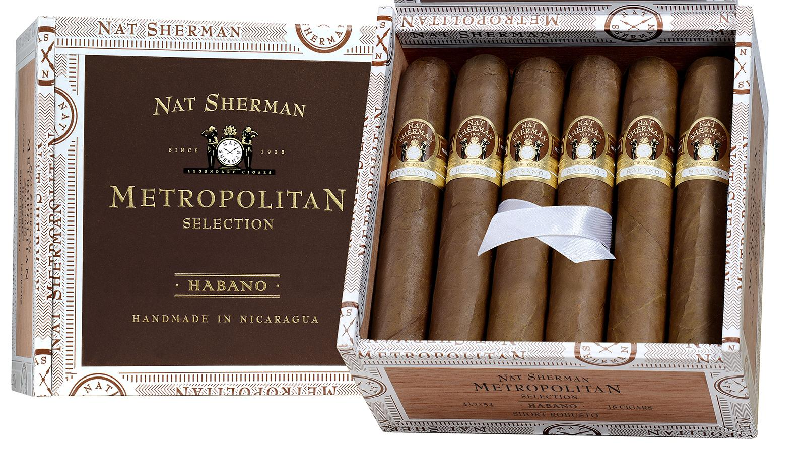 Nat Sherman To Unveil Metropolitan Habano, New Sizes At IPCPR