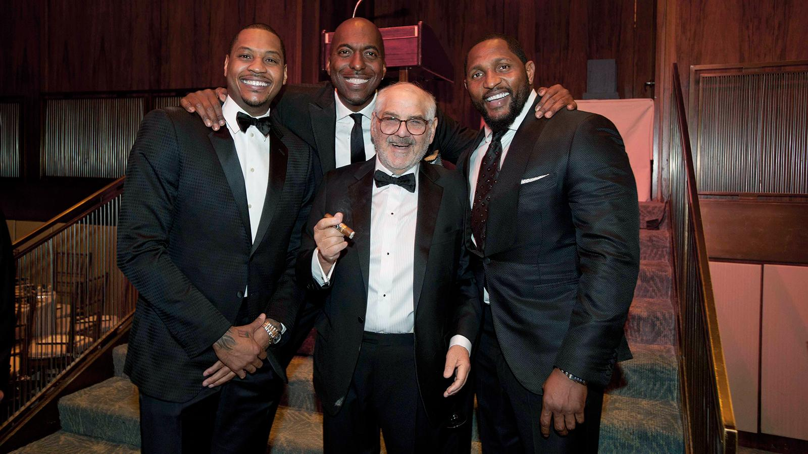 Sports Stars Gather at $1.8 Million Charity Dinner