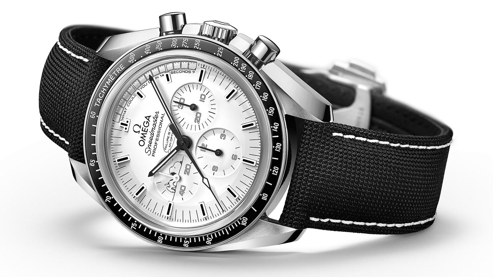 Omega's Speedmaster Apollo 13 Silver Snoopy Award