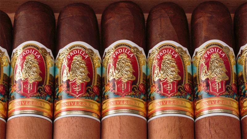 Padilla Launches Two Anniversary Cigars