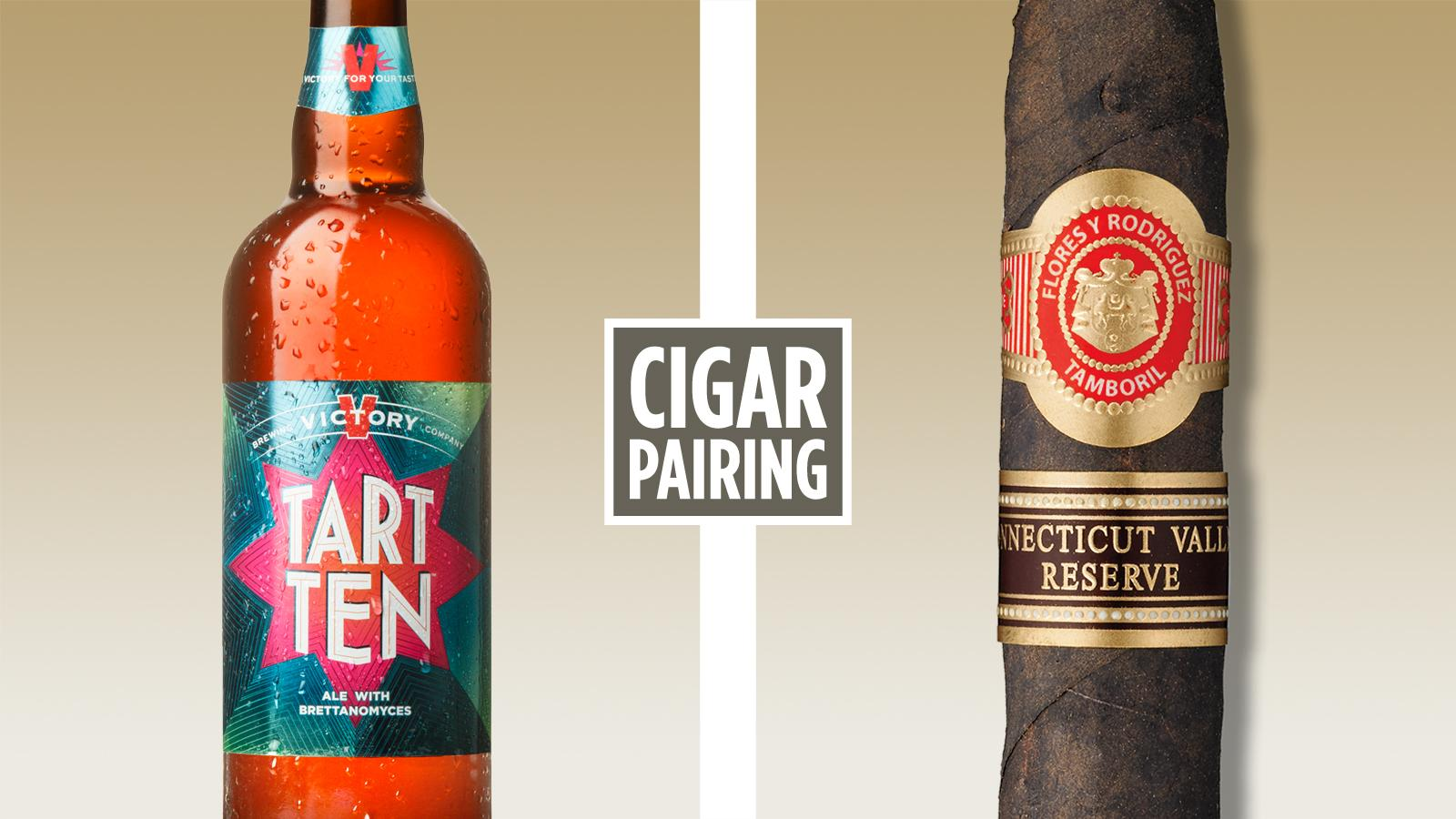 Cigar Pairing: Victory Brewing Tart Ten
