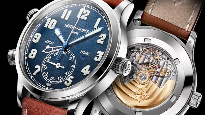 Patek Philippe's Calatrava Pilot Travel Time Charts A New Course
