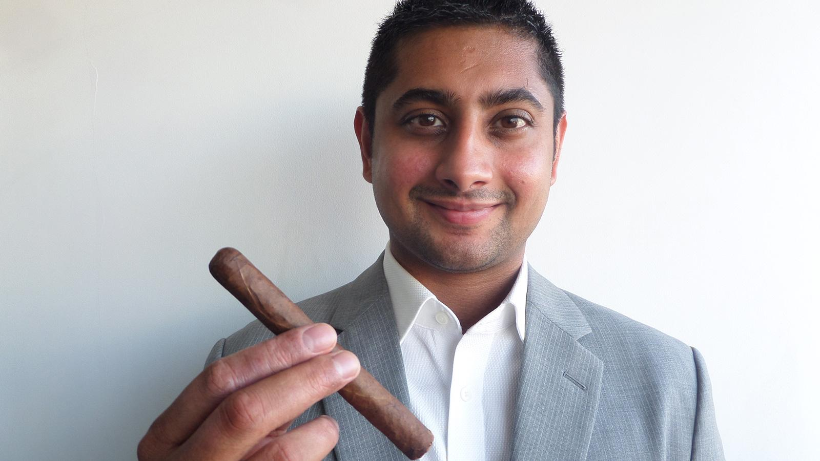 Akhil Kapacee of Regius Cigars discusses his breaking into the business and entering the U.S. market.