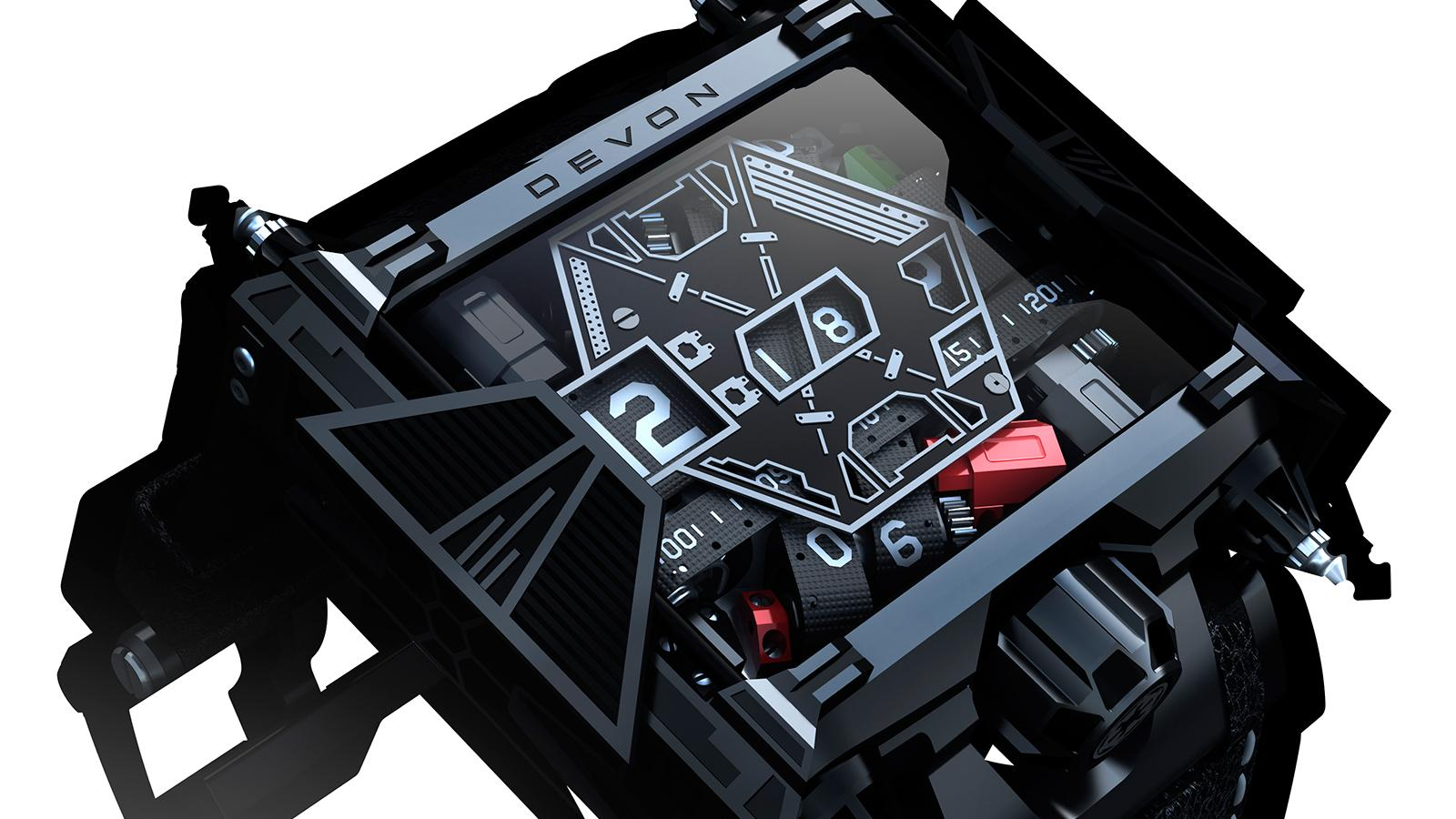 Devon Works' Star Wars Edition Watch Feels The Force