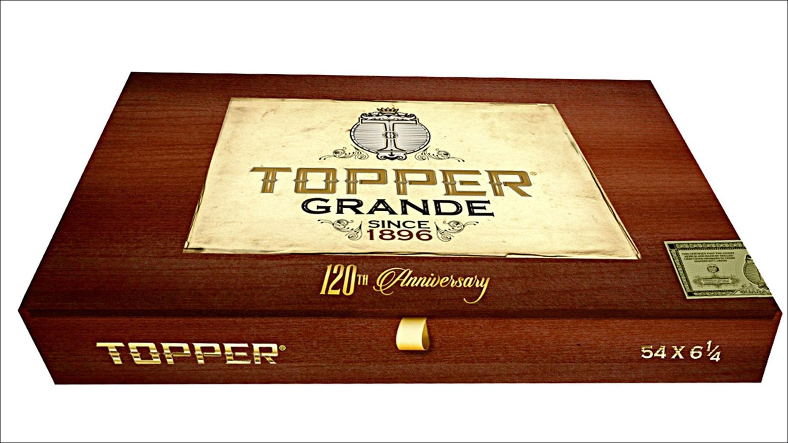 New Topper Cigar Celebrates 120 Years