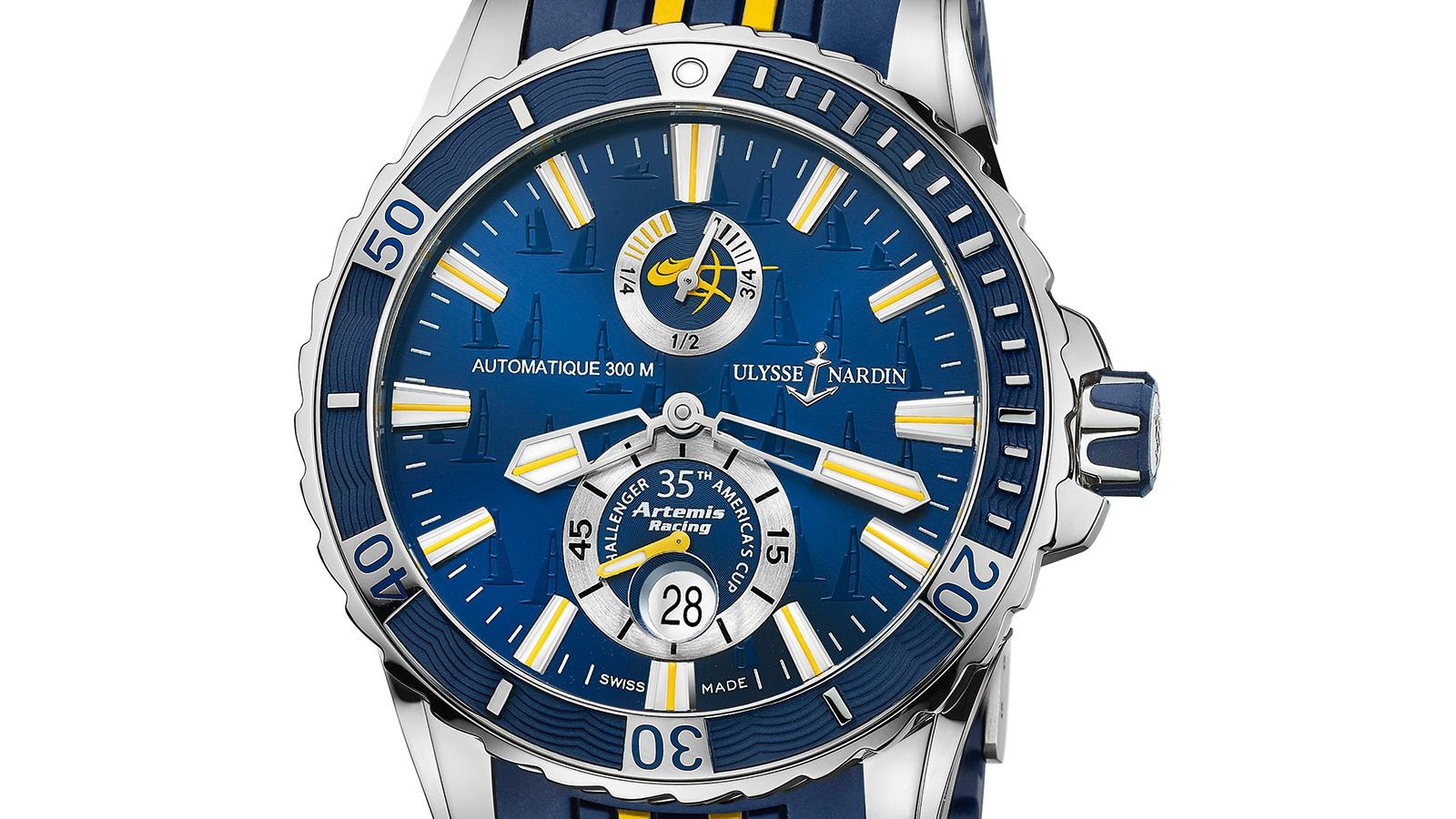 Ulysse Nardin's New Artemis Racing Diver a Nod to Swedish Sailing
