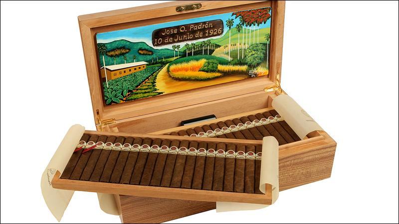 Only 1,000 Padrón 1964 Anniversary Series Millennium humidors were released in the year 2000. The cigars have aged quite well.