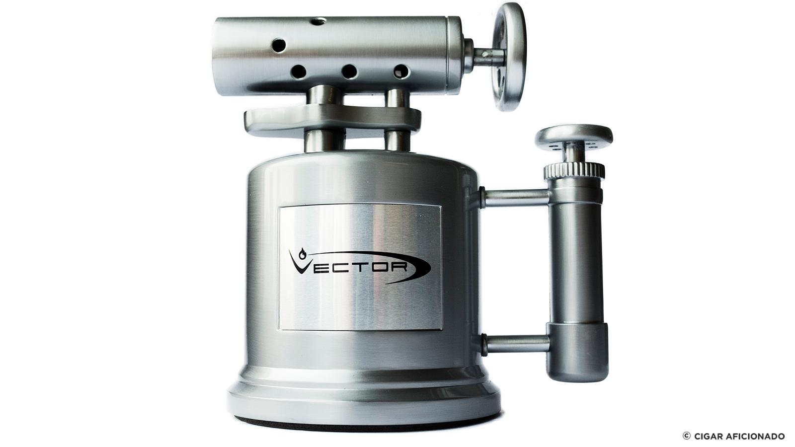 Review: Vector Tri-Pump Tabletop Lighter