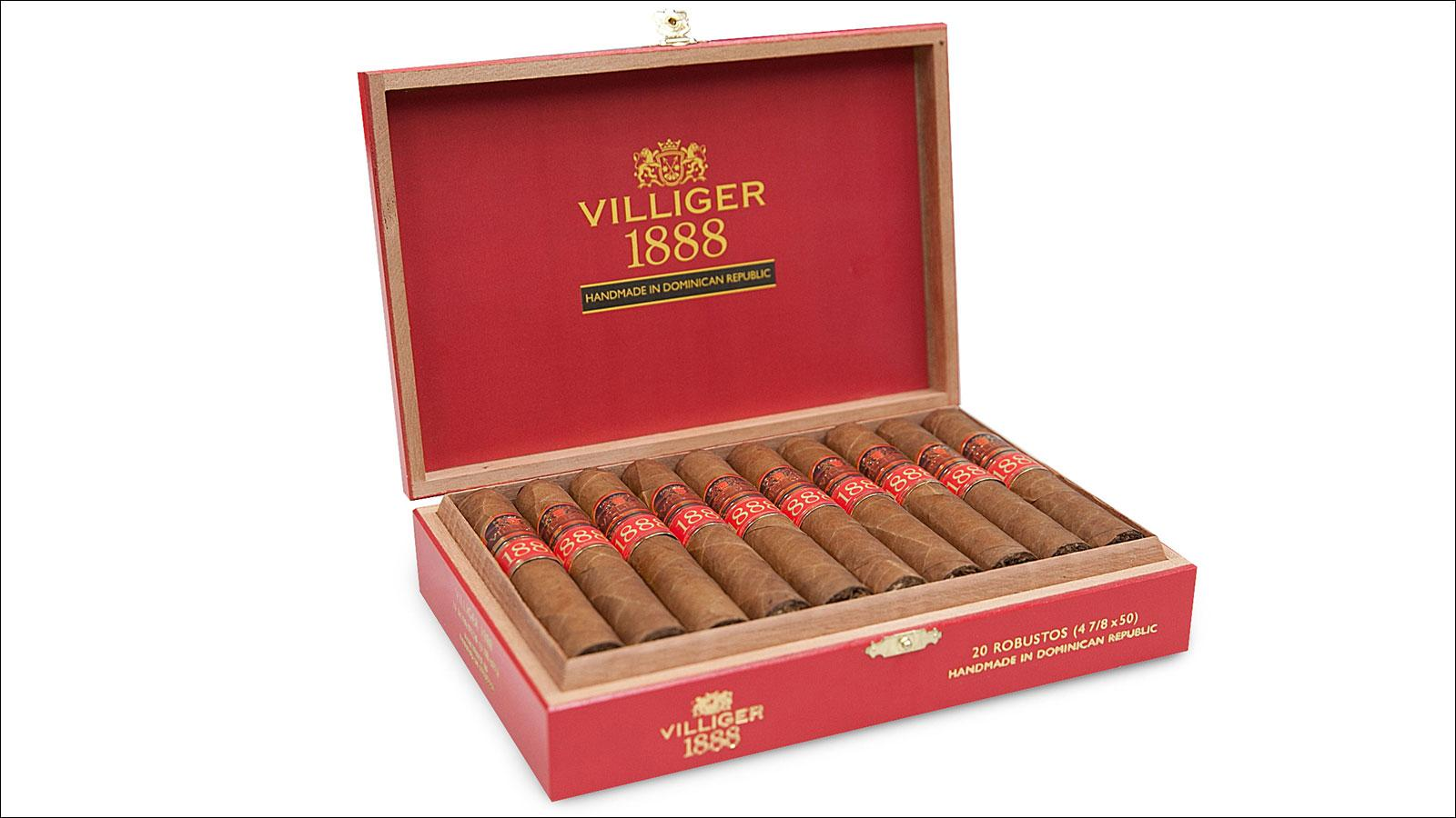 Villiger 1888 Relaunches Next Week With New Image And New Blend