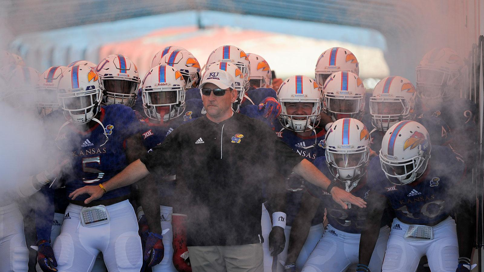 University of Kansas coach David Beaty received a lucrative contract extension that doubled his salary from $800,000 to $1.6 million, despite the team's 2-10 record.