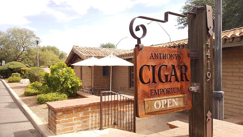 Anthony's Cigar Emporium on North Campbell (shown) is one of four Tucson locations.