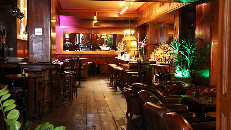 Where To Smoke: Kruger's American Bar, Vienna, Austria