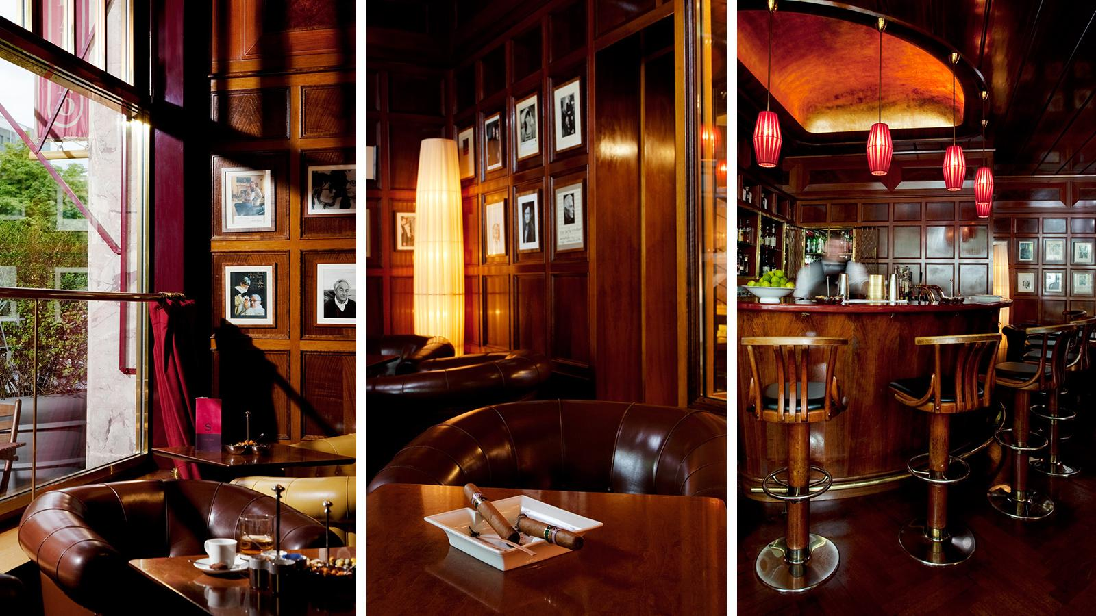 The Times Bar opened in 1957 inside Berlin's historic Savoy Hotel.