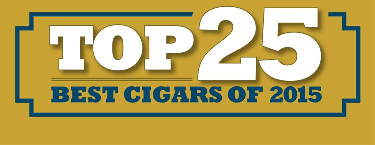 TOP 25: <em>Cigar Aficionado</em>'s Best Cigars of 2015
